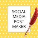 Social Media Post Maker, Planner & Graphic Design