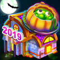 Halloween Cafe Shop