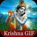 Lord Krishna GIF Status
