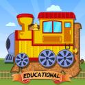 Quebra-cabeças Trens Educação