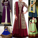 Fancy Anarkali Kurti Dresses Salwar neck Designs