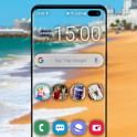 투명 스크린 휴대 전화 의 HD 트릭