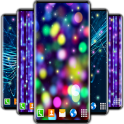 Electric Live Wallpaper ⭐ Bokeh Glitter Wallpapers