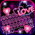 Neon Love Tema de teclado