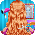 Fashion Braid Hairstyles Salon-girls games