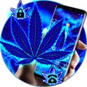 Blue Flame Weed Theme