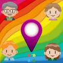 Localizador familiar GPS Rastreador - Chat