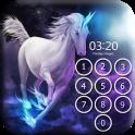 Unicorn Pin Lock Screen