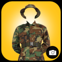 Army Suit Photo Montage