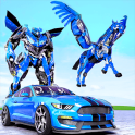 Police Horse Robot Transformation :Car Robot Games