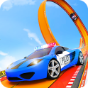 Police Ramp Car Stunts GT Racing Car Stunts Game
