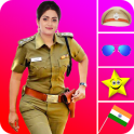 Women Police Suit Photo Editor 2020