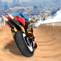 Impossible Mega Ramp Moto Bike Rider Stunts Racing