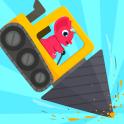 Dinosaur Digger 2 - Truck Games for kids