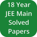 18 Years JEE Main Solved Papers