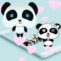 Blue Love Panda Live Wallpaper 2020 New