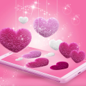 Pink Fluffy Love Heart Live Wallpaper 2020