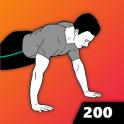200 Push Ups