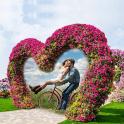 Garden Photo Frame - Photo Editor - Photo Collage