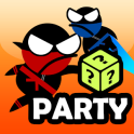 Jumping Ninja Party 2 Player Games