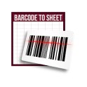 Barcode to Sheet