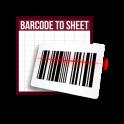 Barcode to Sheet
