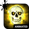 Wild Skull Animated Keyboard + Live Wallpaper
