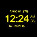 Digital Clock Live Wallpaper