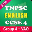 TNPSC English CCSE II 2020 CCSE 4 Exam App