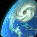 Wind Map Hurricane Tracker (3D Globe & Alerts)