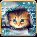 Cute Kitty Tema de teclado