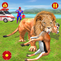 Light Robot Speed Hero Animal Hunting Mission