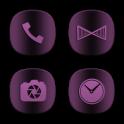 Wine Purple Infinity Icons