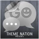 GO SMS Theme Sleek Wood