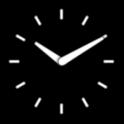widget horloge analogique
