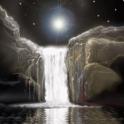 Waterfall At Moonlight Live Wa