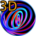 3D Hypnotic Spiral Rings PRO