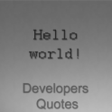 Developers Quotes