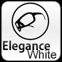 White Elegance Theme GO SMS