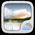Restful Weather Widget Theme