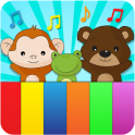 Animal sounds piano for kids