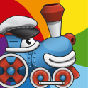 Rainbow Train: teach colors lv