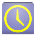 シンプル時計ウィジェット(軽量版)