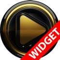 Poweramp widgetpack BLACK GOLD
