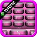 exDialer Jelly Pink Theme