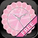 [무료] 귀엽기 QLOCK LWP 베이비 핑크