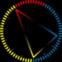Trigon clock (live wallpaper)