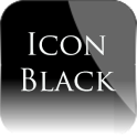 Icon Black Theme Nova/APEX/ADW