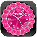 ALARM МИР QLOCK OTOMETOKEI Red
