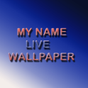My Name Live Wallpaper 3D